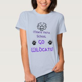 Monte Vista School, Go Wildcats! T-shirts