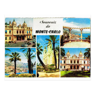Montecarlo, early multiview postcard