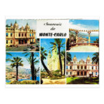 Montecarlo, early multiview postcards