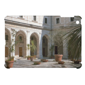 Montecassino, Abbey courtyard Cover For The iPad Mini