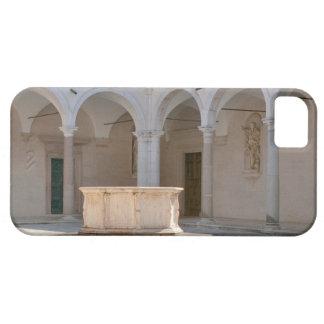 Montecassino, bien en el patio funda para iPhone 5 barely there