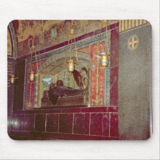 Montecassino, capilla conmemorativa y lámparas mousepads