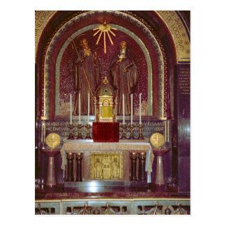 Montecassino, capilla del savrament reservado tarjeta postal