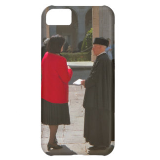 Montecassino, Chatting to a monk Cover For iPhone 5C