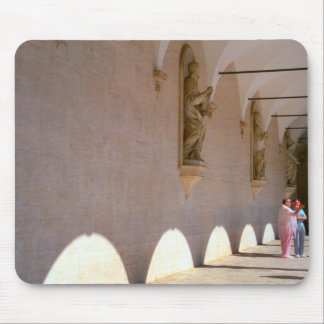 Montecassino, Cloisters Mouse Pads