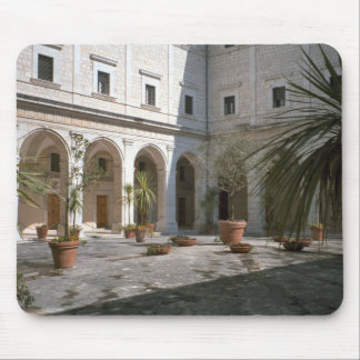 Montecassino, courtyard mouse pads
