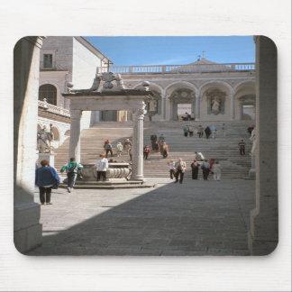 Montecassino, Entrance courtyard Mousepad