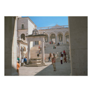 Montecassino Entrance to the Abbey Posters