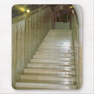 Montecassino, escaleras de mármol mousepad