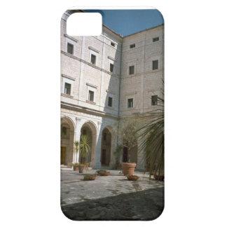 Montecassino, esquina del patio funda para iPhone 5 barely there