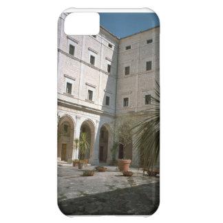 Montecassino, esquina del patio funda para iPhone 5C