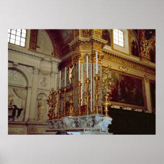 Montecassino High altar Posters