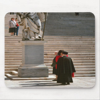 Montecassino, Monks and visitor Mouse Pads