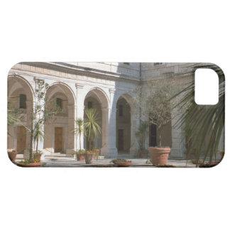 Montecassino, patio de la abadía iPhone 5 fundas