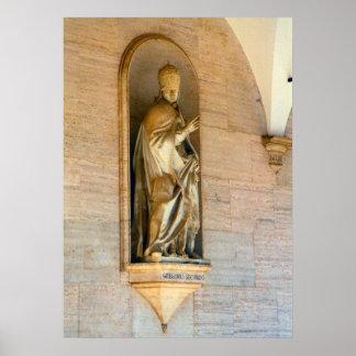 Montecassino Pope Gregory II Print