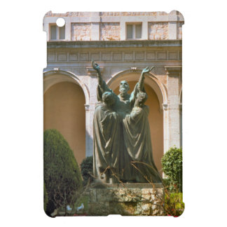 Montecassino, sculpture in the courtyard iPad mini cases