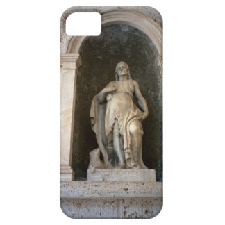 Montecassino, Statue in the courtyard iPhone SE/5/5s Case