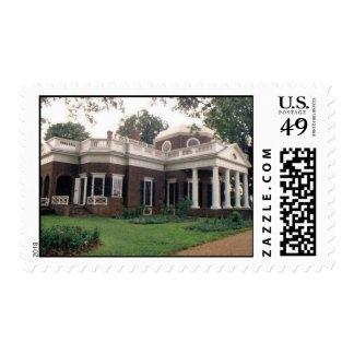 Montecello Postage Stamp