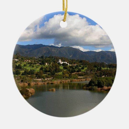 Montecito Ceramic Ornament