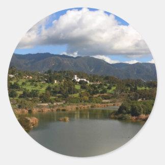 Montecito Classic Round Sticker