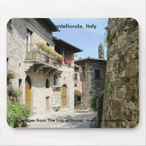 Montefiorale, Italy Mousepads