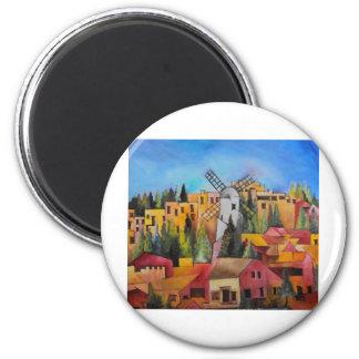 Montefiore Windmill Magnet