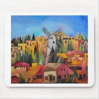 Montefiore Windmill Mouse Pad