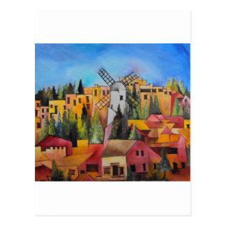 Montefiore Windmill Postcard