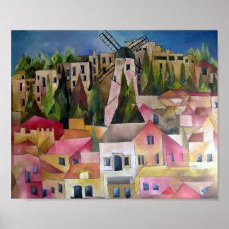 Montefiori windmill print