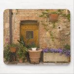 Montefollonico, d'Orcia de Val, provincia de Siena Alfombrillas De Ratones