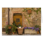 Montefollonico, Val d'Orcia, Siena province, 2 Greeting Card