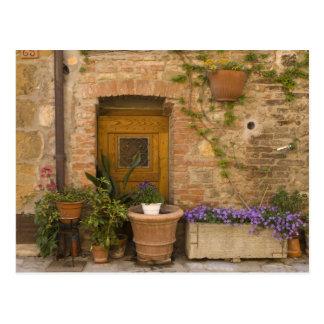 Montefollonico, Val d'Orcia, Siena province, 2 Postcard