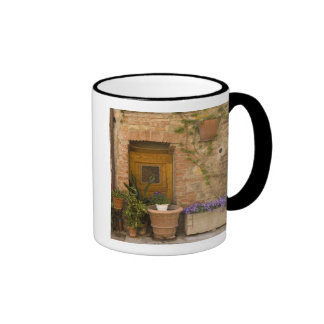 Montefollonico, Val d'Orcia, Siena province, 2 Ringer Coffee Mug