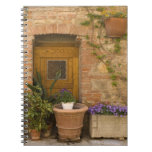 Montefollonico, Val d'Orcia, Siena province, 2 Spiral Notebook