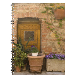 Montefollonico, Val d'Orcia, Siena province, 2 Spiral Notebooks