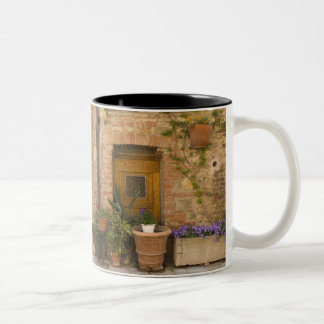 Montefollonico, Val d'Orcia, Siena province, 2 Two-Tone Coffee Mug