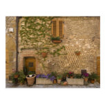 Montefollonico, Val d'Orcia, Siena province, Postcard