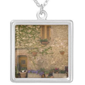 Montefollonico, Val d'Orcia, Siena province, Square Pendant Necklace