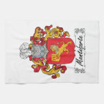 Monteforte Family Crest Hand Towels