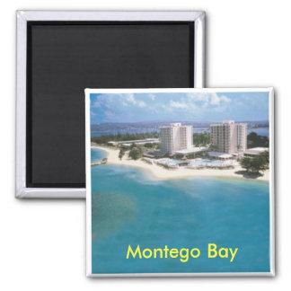 Montego Bay 2 Inch Square Magnet