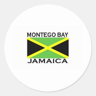 Montego Bay, Jamaica Classic Round Sticker