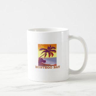 Montego Bay, Jamaica Taza Básica Blanca