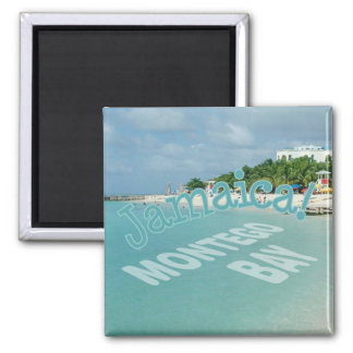 Montego Bay Jamaica Travel Photo Souvenir Magnet
