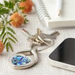Montego Blues Mosaic Keychain