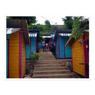 montego colours postcard
