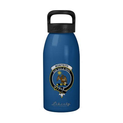 Monteith Clan Badge Reusable Water Bottle