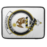 Monteith Clan Badge Sleeves For MacBook Pro