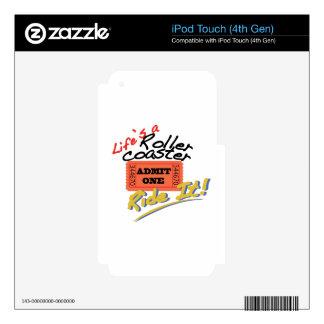 ¡Móntelo! Skins Para iPod Touch 4G
