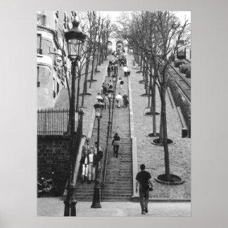 Montemarte, poster de París