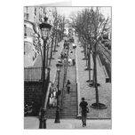 Montemarte, tarjetas de la foto de París